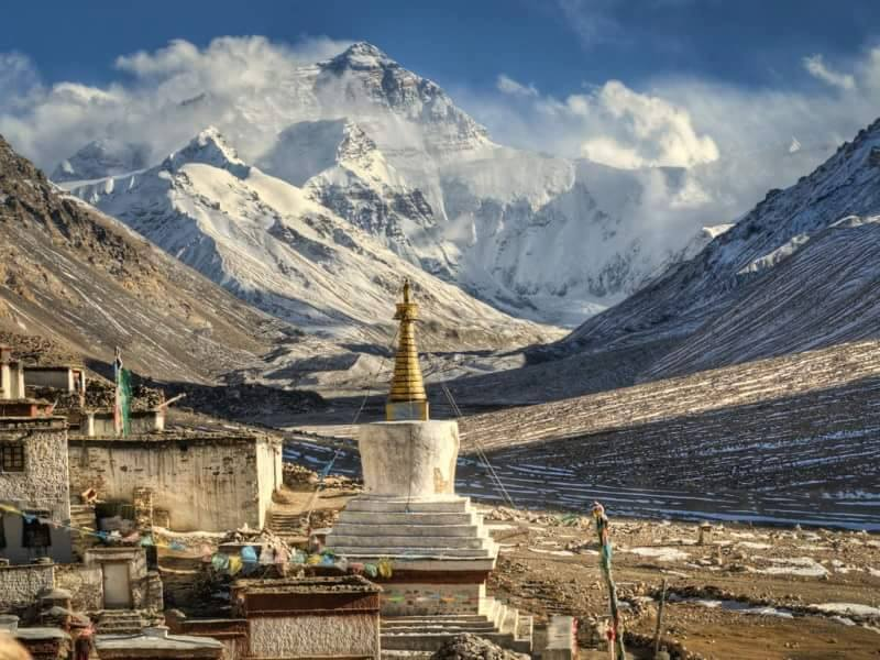 Mt.Everest Expedition North col Tibet.