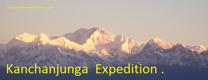 Kanchanjunga expedition south side 8,586M)