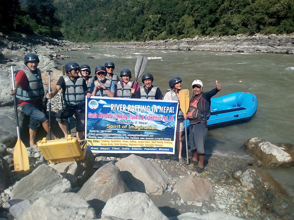 Bote Koshi  River Rafting. 5 Day.