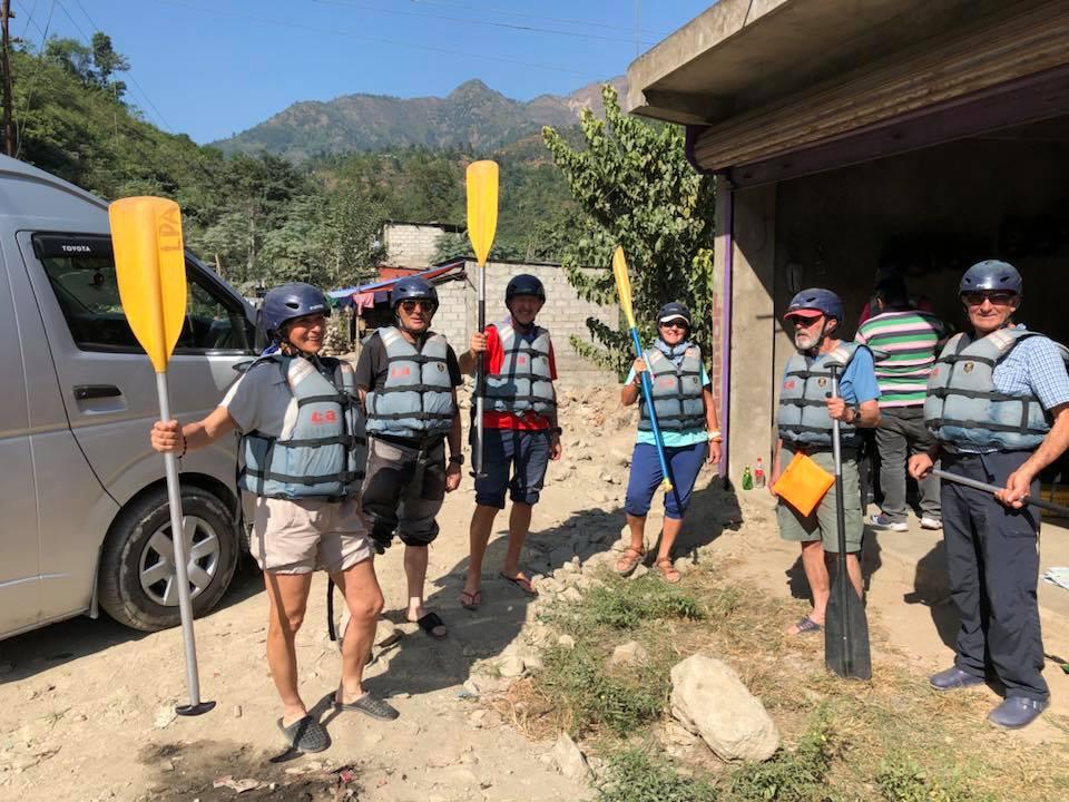 Bote Koshi  River Rafting. 5 Day.