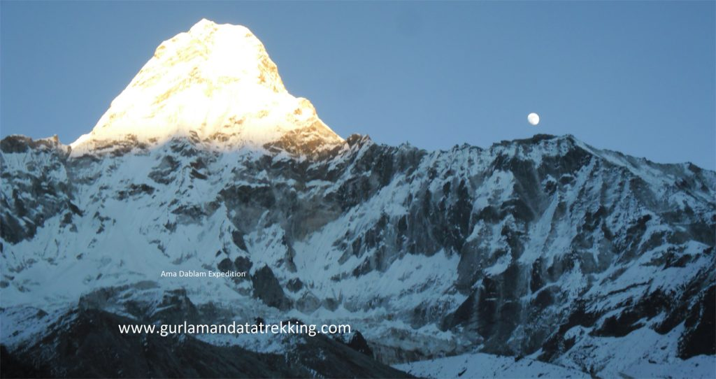 Mt. Ama Dablam Expedition full board 30 Day.