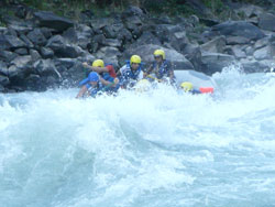Sun koshi  River Rafting 8 Day.