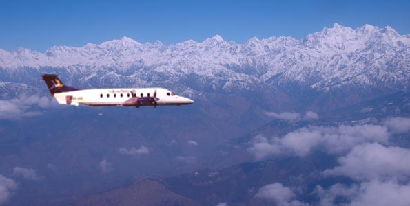 Mountain Flights  in Langtang Region of Nepal.