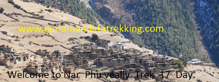Nar  Phu Valley Trek  17 Days.