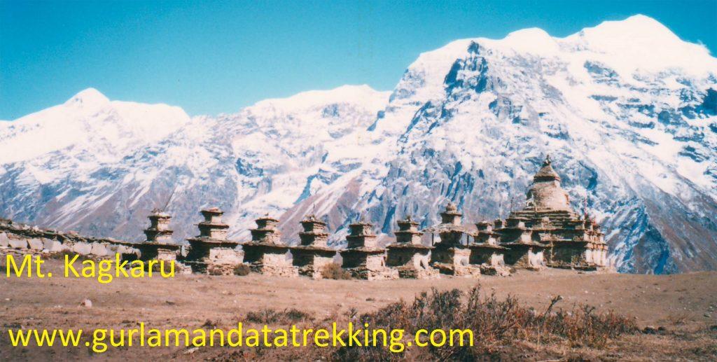 Mt. Kang Guru peak climbing (6981m)